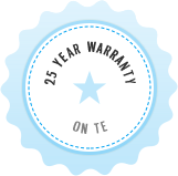 25 Year Warranty on TE Connectivity